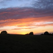 Hill of Tara at dusk