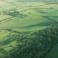 Hill of Tara from the air